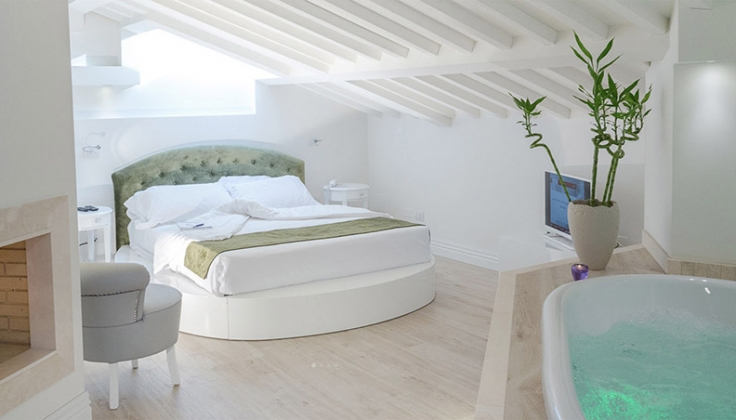 Villa del Capitano bedroom