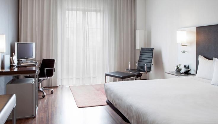 hotel Burgos hotel room