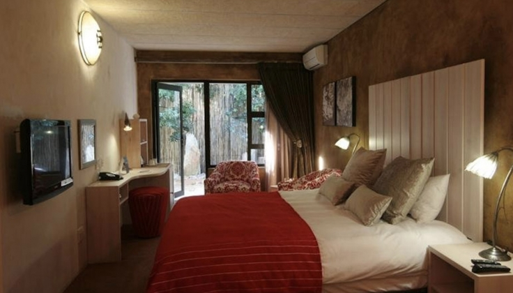 african rock hotel bedroom