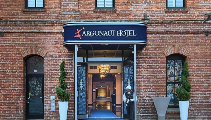 argonaut hotel exterior