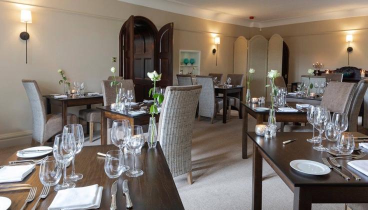 Burgoyne hotel dining area