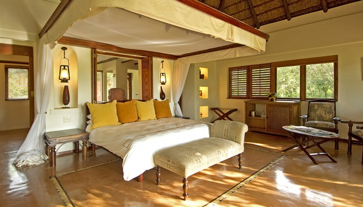 chobe chilwero lodge bedroom interior