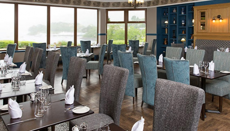 Cuillin Hills Hotel dining area
