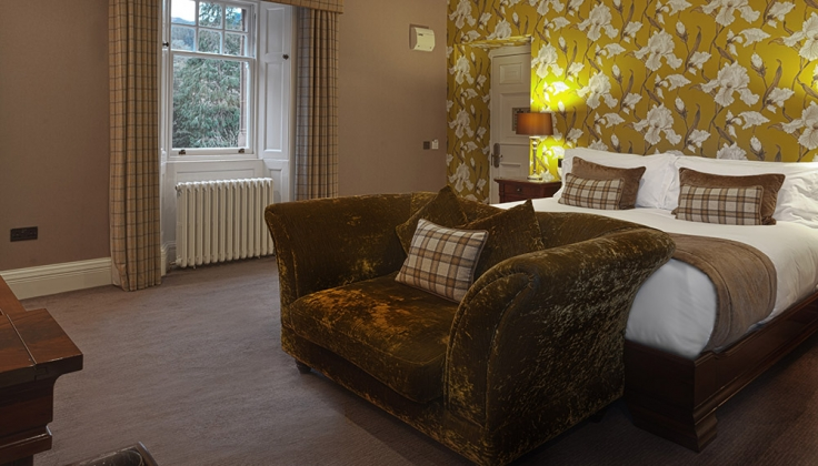 Fonab Castle Hotel bedroom