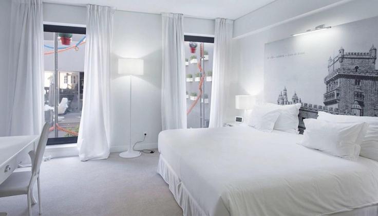 fontecruz lisboa hotel bedroom