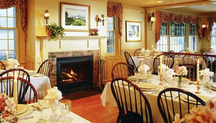 green mountain inn dining