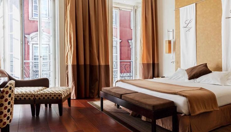 Heritage Avenida Liberdade Hotel bedroom