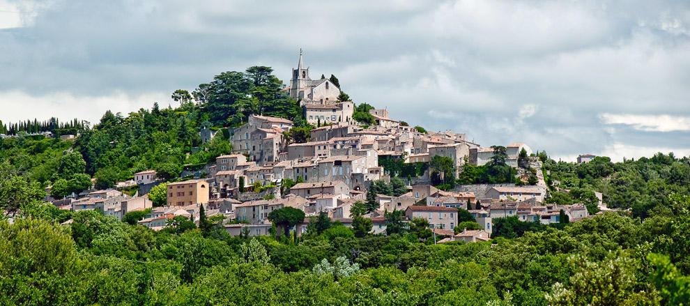 hilltop villages