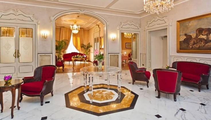 Hotel Bristol Palace lounge