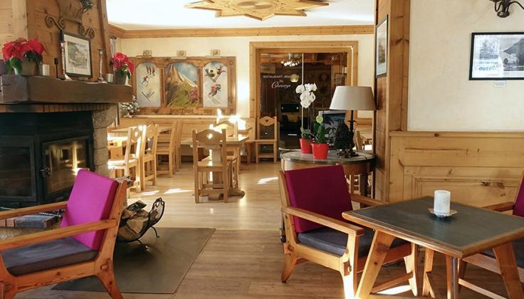 hotel de la couronne dining