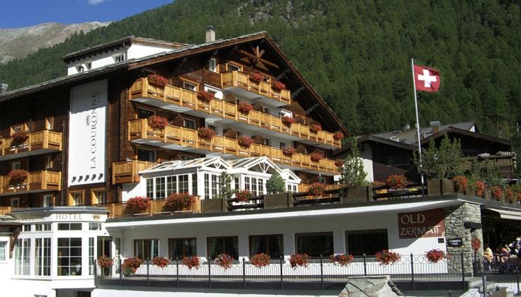 hotel de la couronne exterior