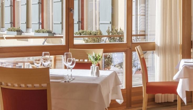 hotel monte sella dining
