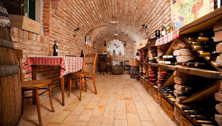 hotel triglav bled wine cellar