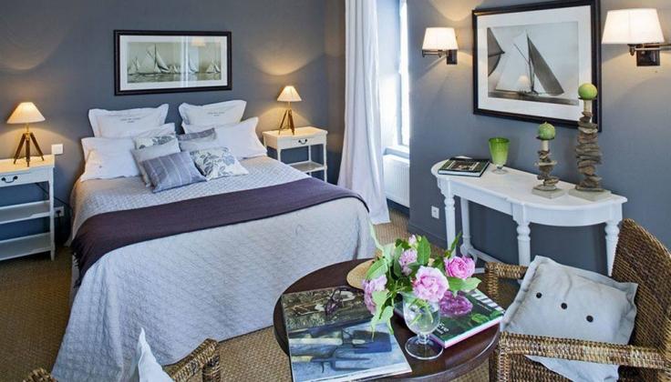 hotel restaurant les ormes bedroom