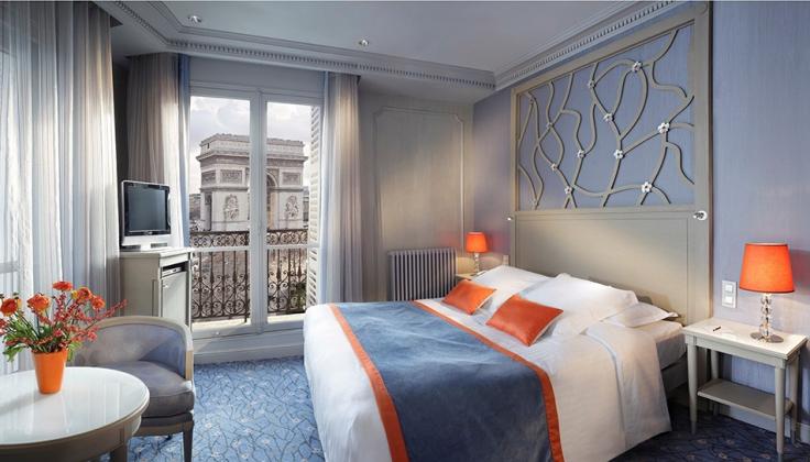Hotel Splendid Etoile bedroom