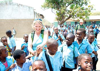 Mfuwe School Zambia