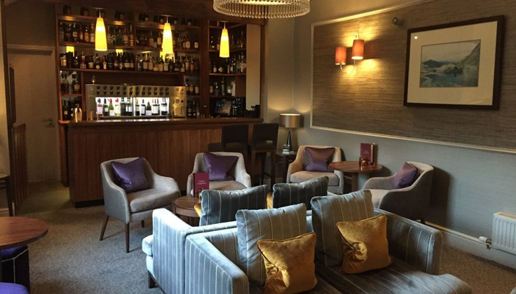 Rothay Garden Hotel bar and lounge area