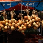 Onions at a Market