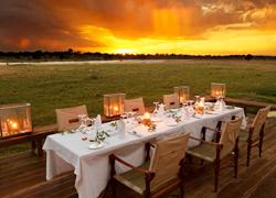 Zambia Outdoor Dining