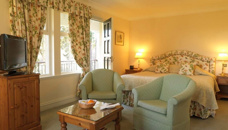 Guest Room at Ballathie House Hotel