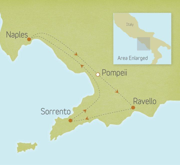 Italy: Pompeii, Capri & the Amalfi Coast 1