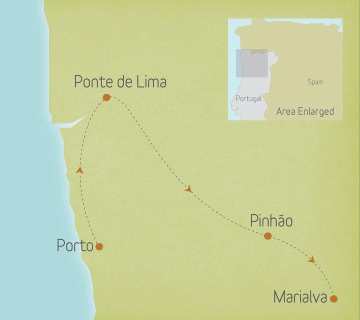 Portugal: Minho & the Douro Valley