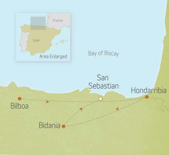 Spain: San Sebastian, Bilbao & Basque Country