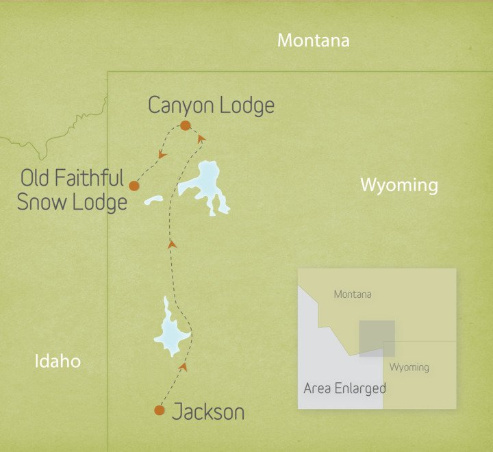 Wyoming: Grand Tetons & Yellowstone 2