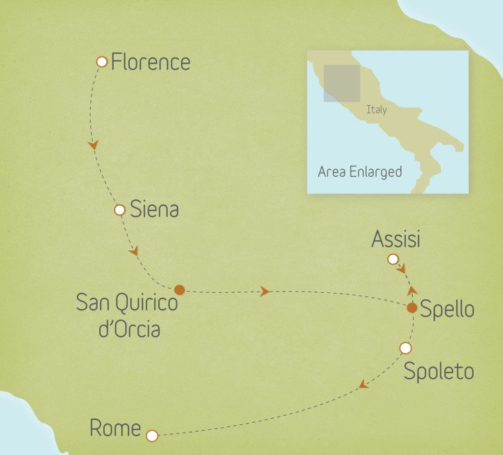 Italy: Tuscany & Umbria 1