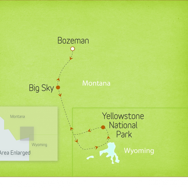 Montana & Wyoming: Yellowstone