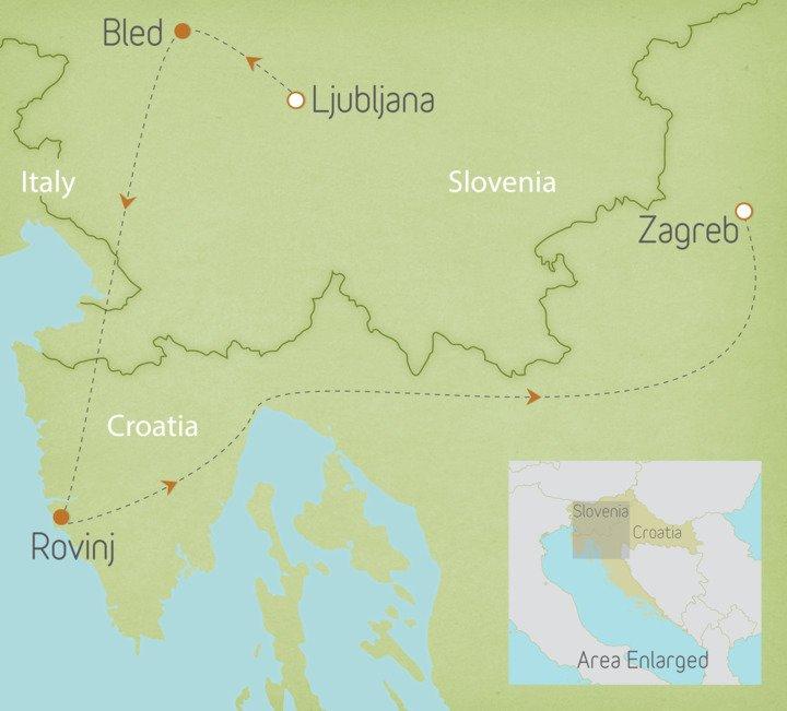 Slovenia & Croatia: Lake Bled & Istria 1