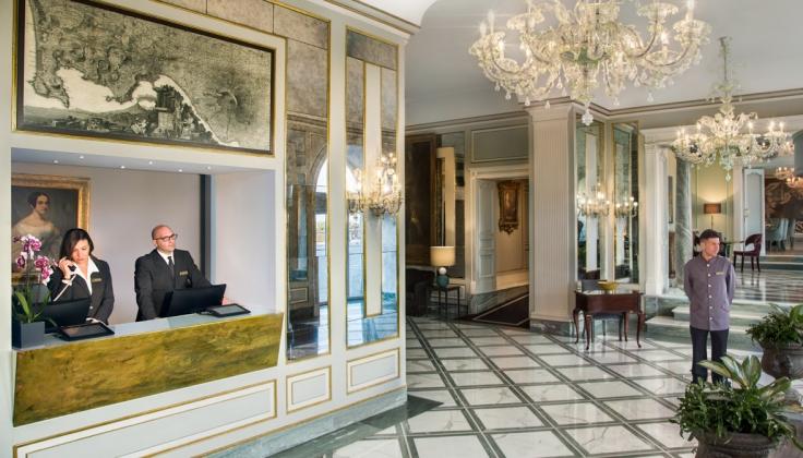 Grand Hotel Santa Lucia - Lobby