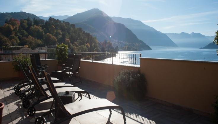 Hotel Du Lac - Terrace
