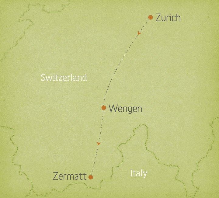 Switzerland: Zurich, Wengen & Zermatt 1