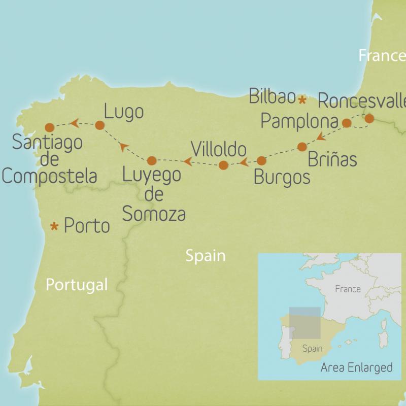 Spain: Camino de Santiago 1