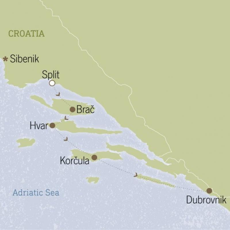 Croatia: The Dalmatian Coast 15