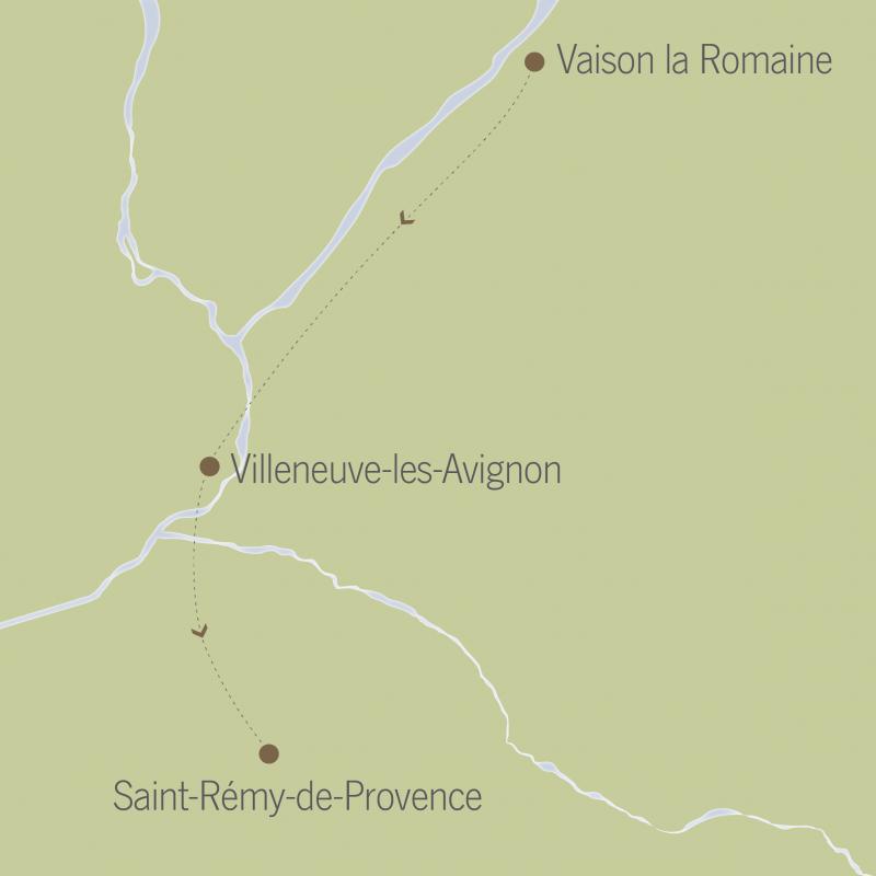 France: Aix-en-Provence, Vaison-la-Romaine & St. Rémy 1