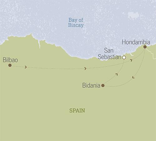 Spain: San Sebastian, Bilbao & Basque Country 1