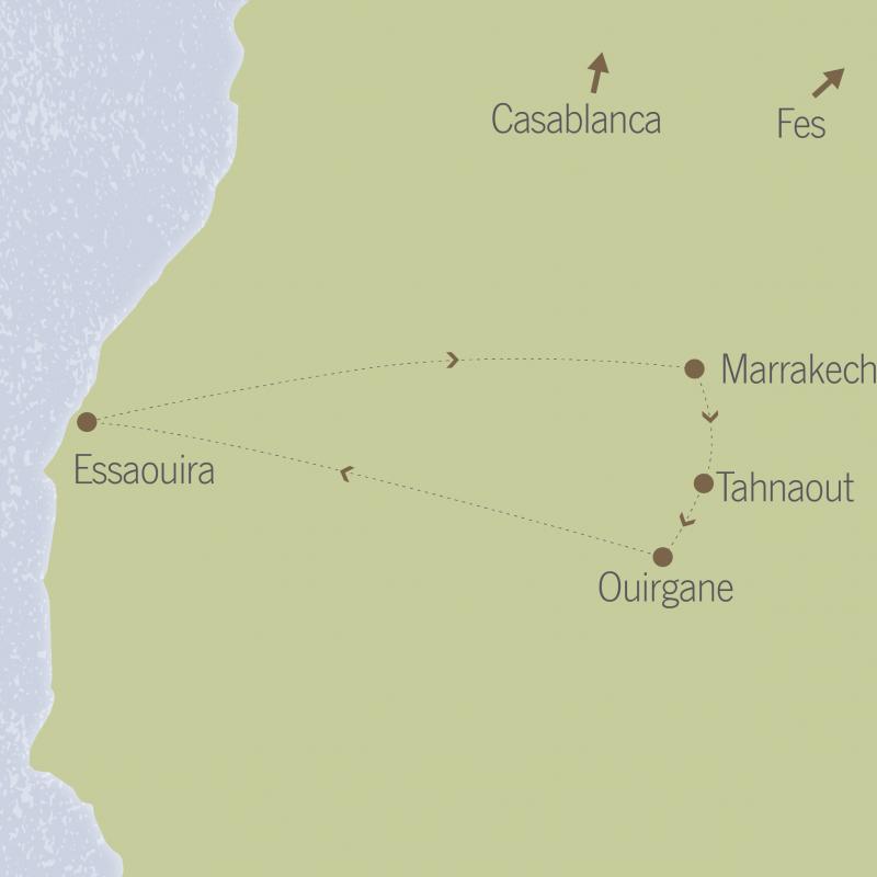Morocco: Marrakech, Foothills of the High Atlas & Essaouira 5