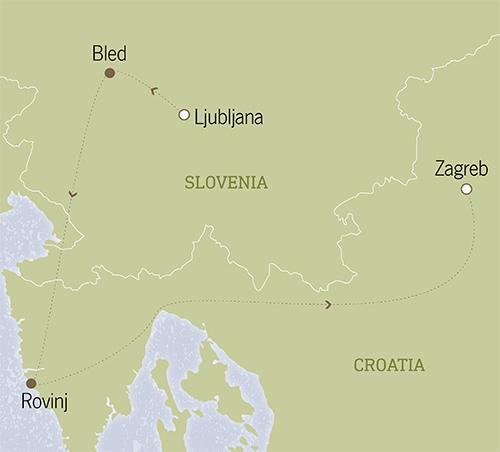 Slovenia & Croatia: Lake Bled & Istria 6