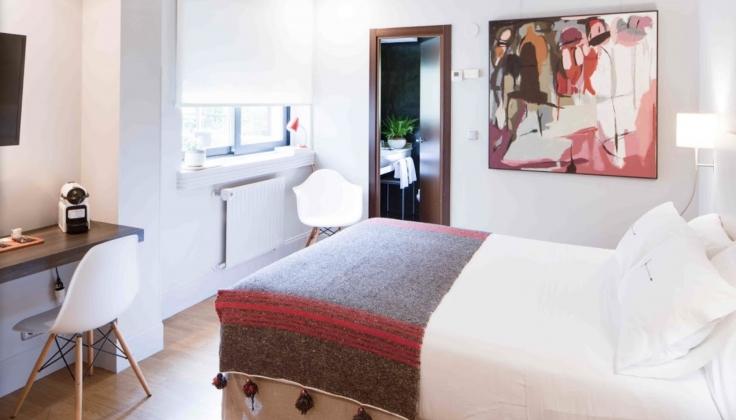 Hotel Rio Bidasoa Bedroom