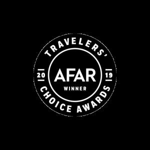 Country Walkers Afar Award Badge